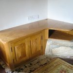 Fitted Oak media unit