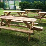 Wycliffe college garden tables